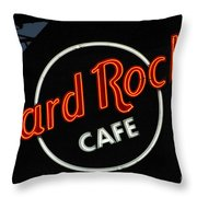 Hard Rock - St. Louis Throw Pillow by Gary Gingrich Galleries