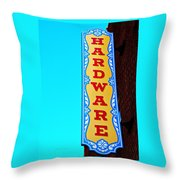 Hardware Store Throw Pillow by Chris Berry