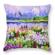 Harmony Throw Pillow by David Wagner