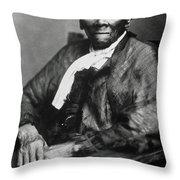 Harriet Tubman  Throw Pillow by American School