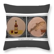 Have You Been Screeched In Yet Throw Pillow by Barbara Griffin