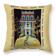 Hawthorne Knoll Throw Pillow by Catherine Holman