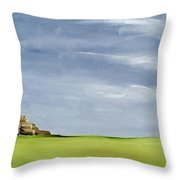 Haybarn Dreaming Throw Pillow by Ana Bianchi