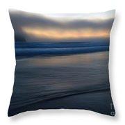 Haystack Hidden Throw Pillow by Mike  Dawson