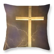 He Has Risen Throw Pillow by James BO  Insogna