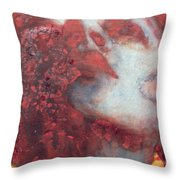 Head Throw Pillow by Graham Dean