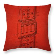 Head To Head Football Classic Electronic Toy Throw Pillow by Edward Fielding