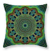 Healing Mandala 19 Throw Pillow by Bell And Todd