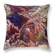 Heart Open Throw Pillow by Karina Llergo Salto