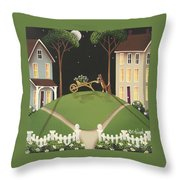 Heather Glen Throw Pillow by Catherine Holman