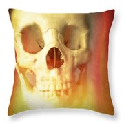Hell Fire Throw Pillow by Edward Fielding