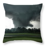 Hell Unleashed II Throw Pillow by Rick Lipscomb