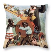 Hello My Baby Throw Pillow by Aged Pixel