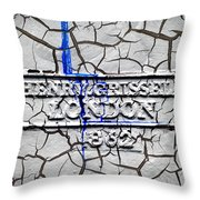 Henry Grissell 1862 Throw Pillow by Mark Rogan