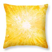 Here Comes The Sun Throw Pillow by Kume Bryant