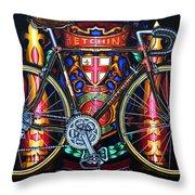 Hetchins Throw Pillow by Mark Howard Jones