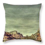 High Country Throw Pillow by Dan Stone