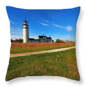 Highland Point Light Throw Pillow by Catherine Reusch  Daley