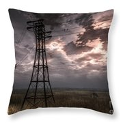 Highwire Throw Pillow by Alina Davis