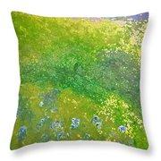 Hillside By Jrr Throw Pillow by First Star Art