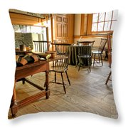 Historic Assembly Chamber Throw Pillow by Olivier Le Queinec