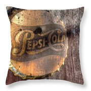 Hits The Spot Throw Pillow by William Fields