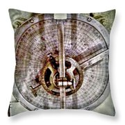 Hmcs Haida Navigation Tool Throw Pillow by Danielle  Parent