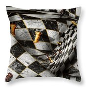 Hobby - Chess - Your Move Throw Pillow by Mike Savad