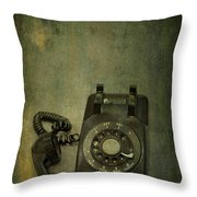 Holding On To Yesterday Throw Pillow by Evelina Kremsdorf