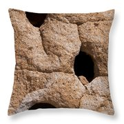 Holes In The Wall Throw Pillow by Bob Phillips