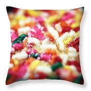 Holiday Cookie Throw Pillow by John Rizzuto
