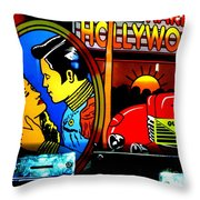 Hollywood Throw Pillow by Newel Hunter