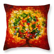 Holy Ground Throw Pillow by Mike Moyers