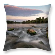 Home Throw Pillow by Davorin Mance