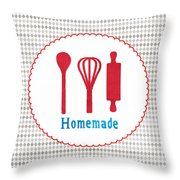 Homemade Throw Pillow by Linda Woods