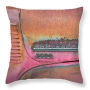 Homestead Chev Throw Pillow by Jerry McElroy