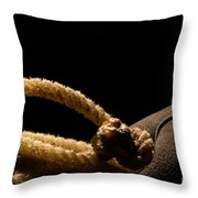 Hondo Throw Pillow by Olivier Le Queinec