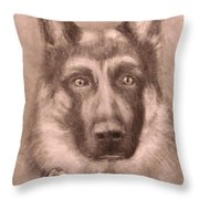 Honor Throw Pillow by Jack Skinner
