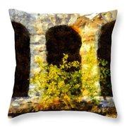 Hope Springs Eternal Throw Pillow by Janine Riley
