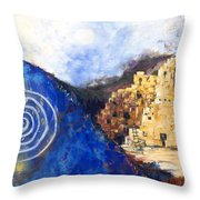 Hopi Spirit Throw Pillow by Jerry McElroy
