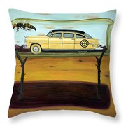 Hornets In A Bottle Throw Pillow by Leah Saulnier The Painting Maniac