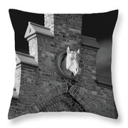 Horsehead   8256 Throw Pillow by Guy Whiteley
