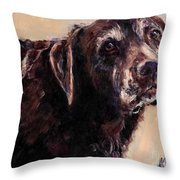 Hudler Throw Pillow by Molly Poole