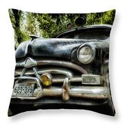 Hudson Cruiser Throw Pillow by Todd and candice Dailey