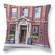 Hung Drawn And Quartered Throw Pillow by Elvis Vaughn