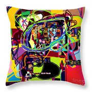 I Believe With Complete Faith In The Coming Of Mashiach 5 Throw Pillow by David Baruch Wolk