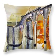 I Can See For Miles And Miles... Throw Pillow by Kenny Francis