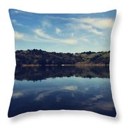 I Float On Anyway Throw Pillow by Laurie Search