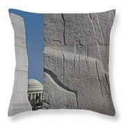 I Have A Dream Throw Pillow by Susan Candelario