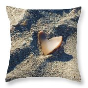 I Heart The Beach Throw Pillow by Anna Villarreal Garbis